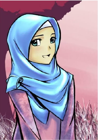 Kartun Islam Perempuan